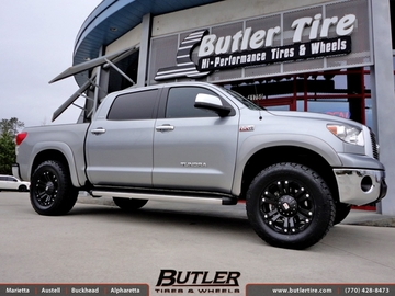 Toyota Tundra with 20in XD Monster Wheels