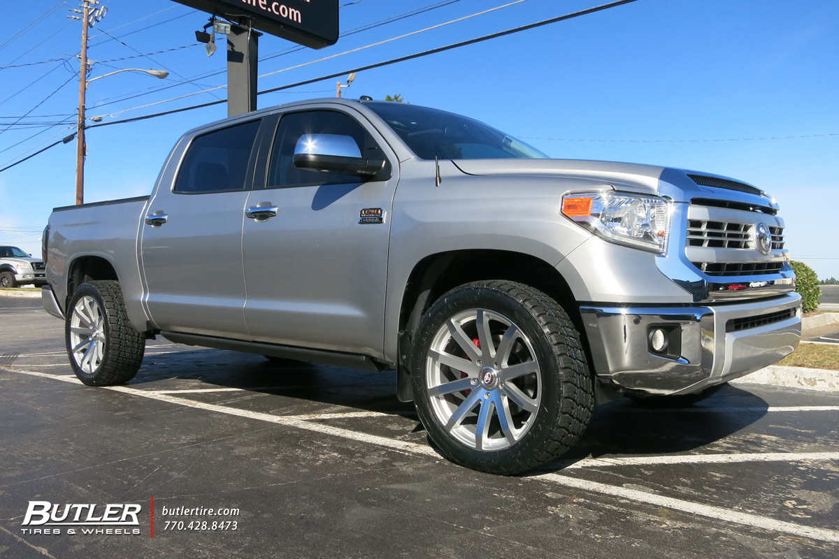Toyota Tundra With 22in Black Rhino Traverse Wheels Exclusively From