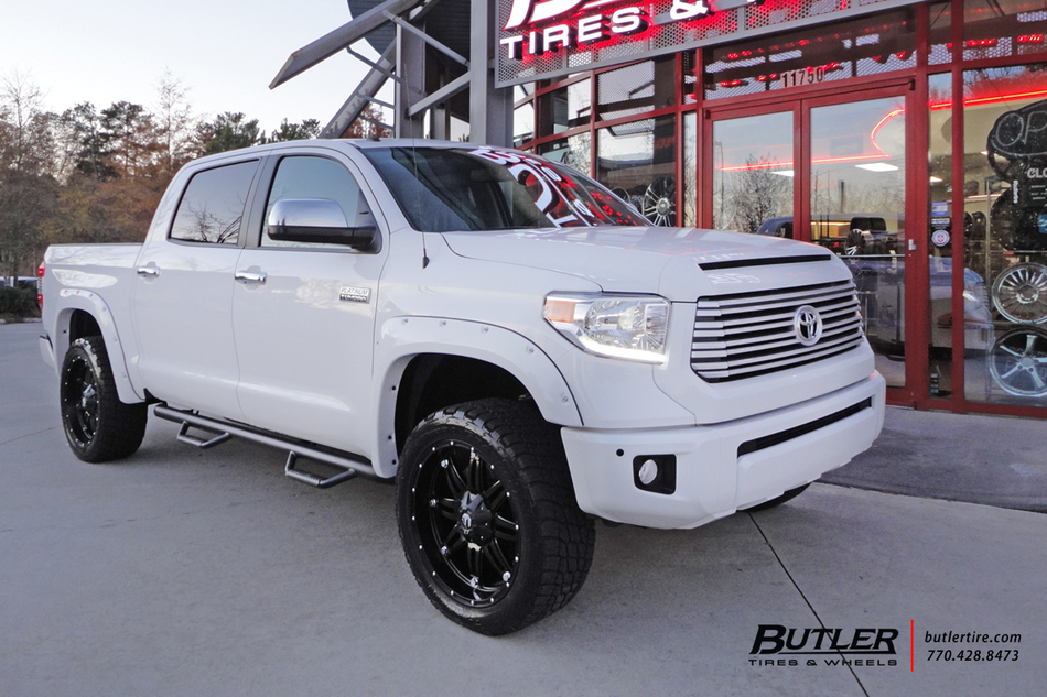 Toyota Tundra With 22in Fuel Hostage Wheels Exclusively