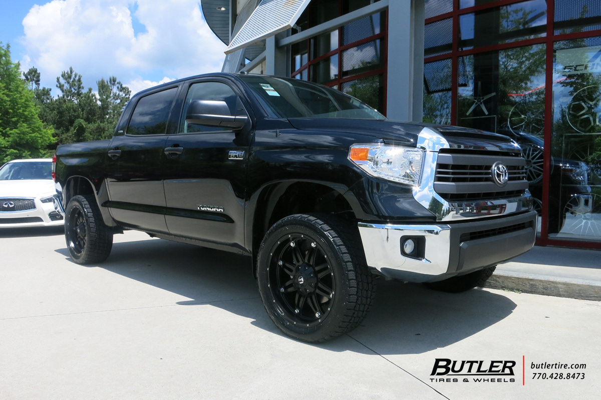 Toyota Tundra with 22in Fuel Hostage Wheels exclusively ...
