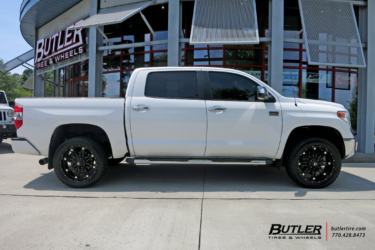 Toyota Tundra With 22in Fuel Hostage Wheels Exclusively From Butler