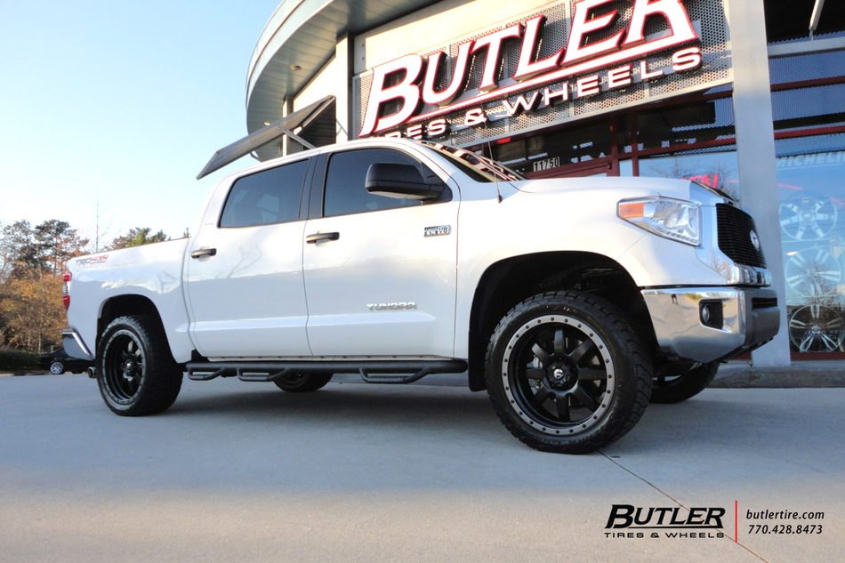 Toyota Tundra With 22in Fuel Trophy Wheels Exclusively