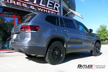VW Atlas with 18in TSW Hockenheim S Wheels