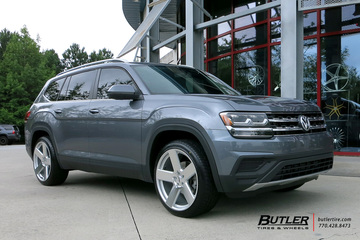 VW Atlas with 22in TSW Bristol Wheels