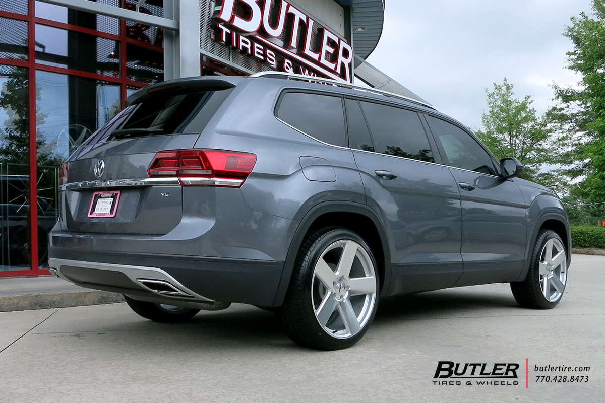 VW Atlas with 22in TSW Bristol Wheels exclusively from Butler Tires and Wheels in Atlanta, GA ...