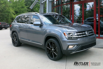 VW Atlas with 22in TSW Mosport Wheels