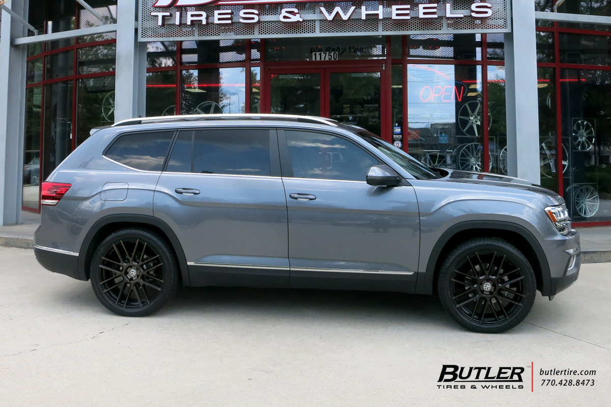 VW Atlas with 22in TSW Mosport Wheels exclusively from ...