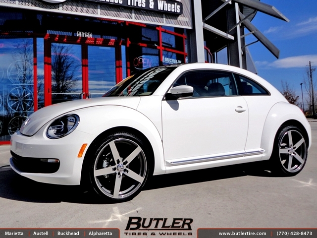 VW Beetle with 20in Mandrus Arrow Wheels exclusively from Butler Tires and Wheels in Atlanta, GA ...