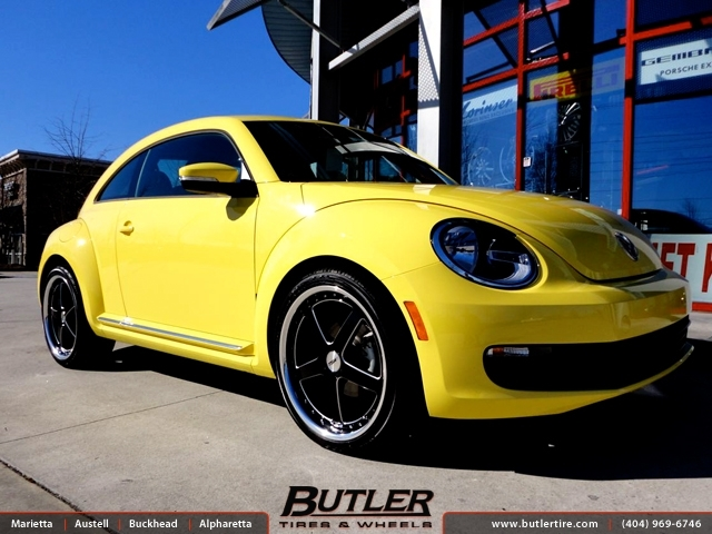 VW Beetle with 20in TSW Carthage Wheels