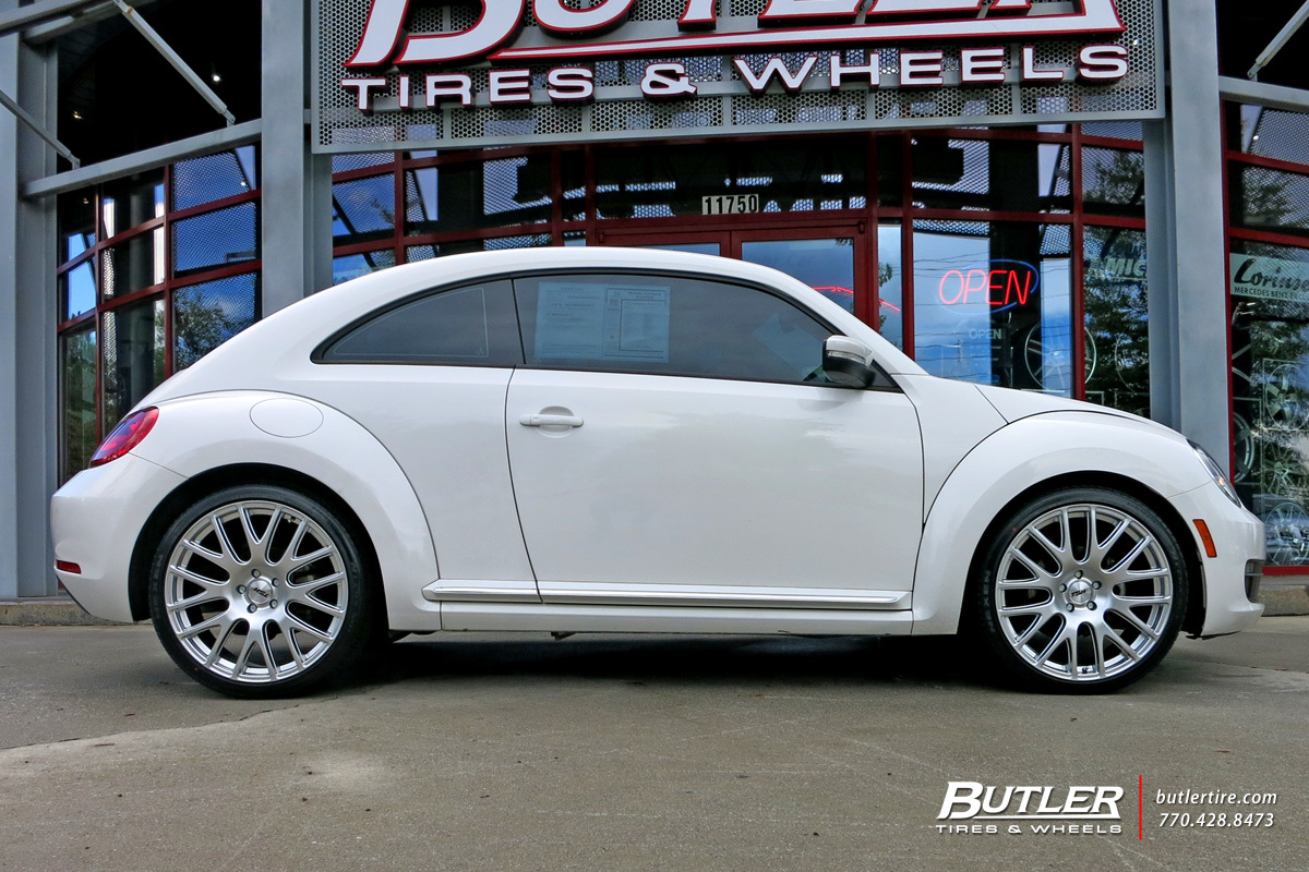 VW Beetle with 20in TSW Mugello Wheels exclusively from Butler Tires and Wheels in Atlanta, GA ...
