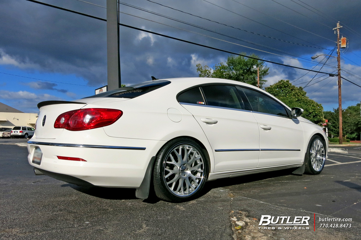 VW CC with 20in TSW Amaroo Wheels