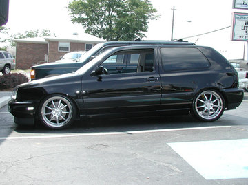 VW GTI with 18in Antera 321 Wheels