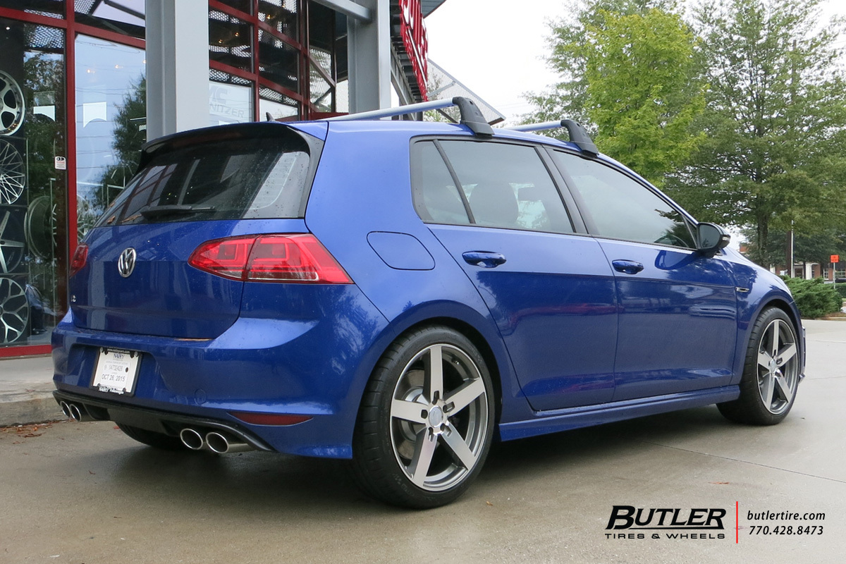 VW GTI with 18in Mandrus Arrow Wheels