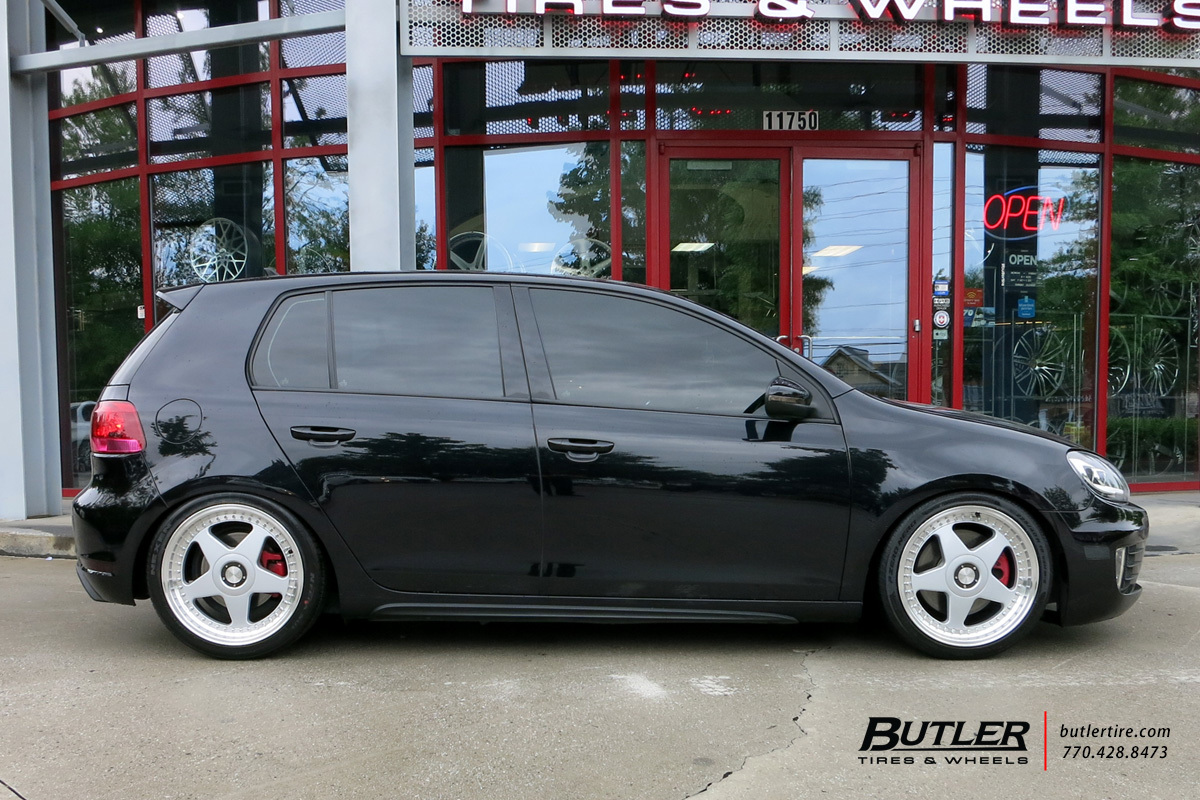 VW GTI with 19in Avant Garde M240 Wheels exclusively from Butler Tires and Wheels in Atlanta, GA ...