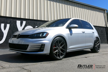 VW GTI with 19in TSW Geneva Wheels