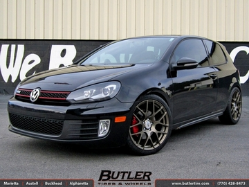 VW GTI with 19in TSW Nurburgring Wheels