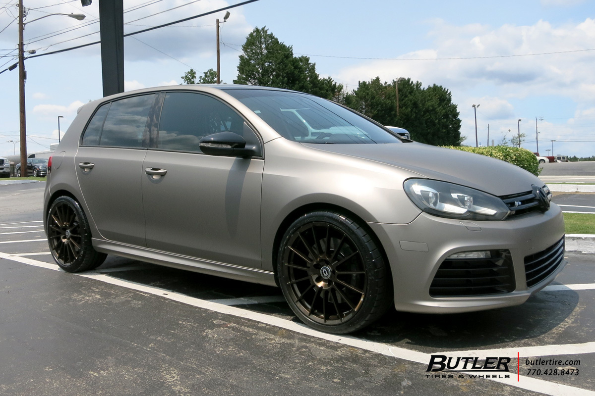 VW Golf with 19in HRE FF15 Wheels