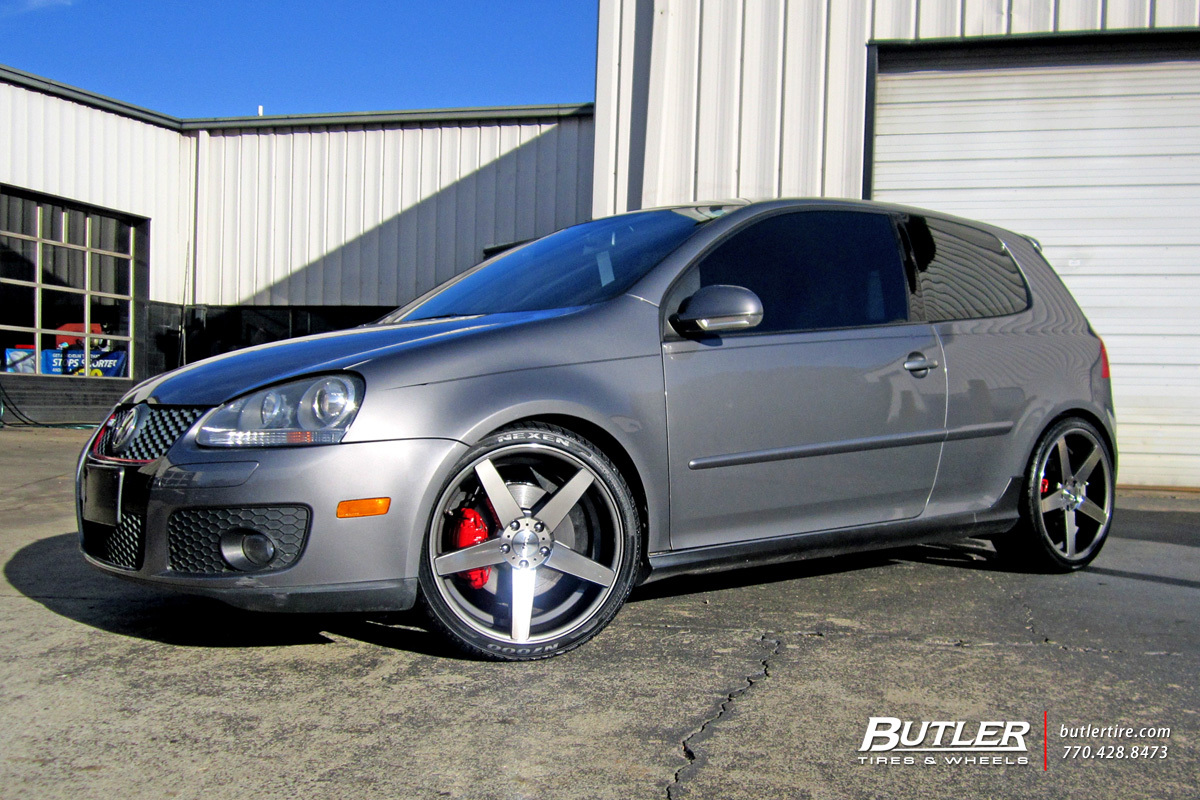 Vw Golf With 19in Tsw Sochi Wheels Exclusively From Butler