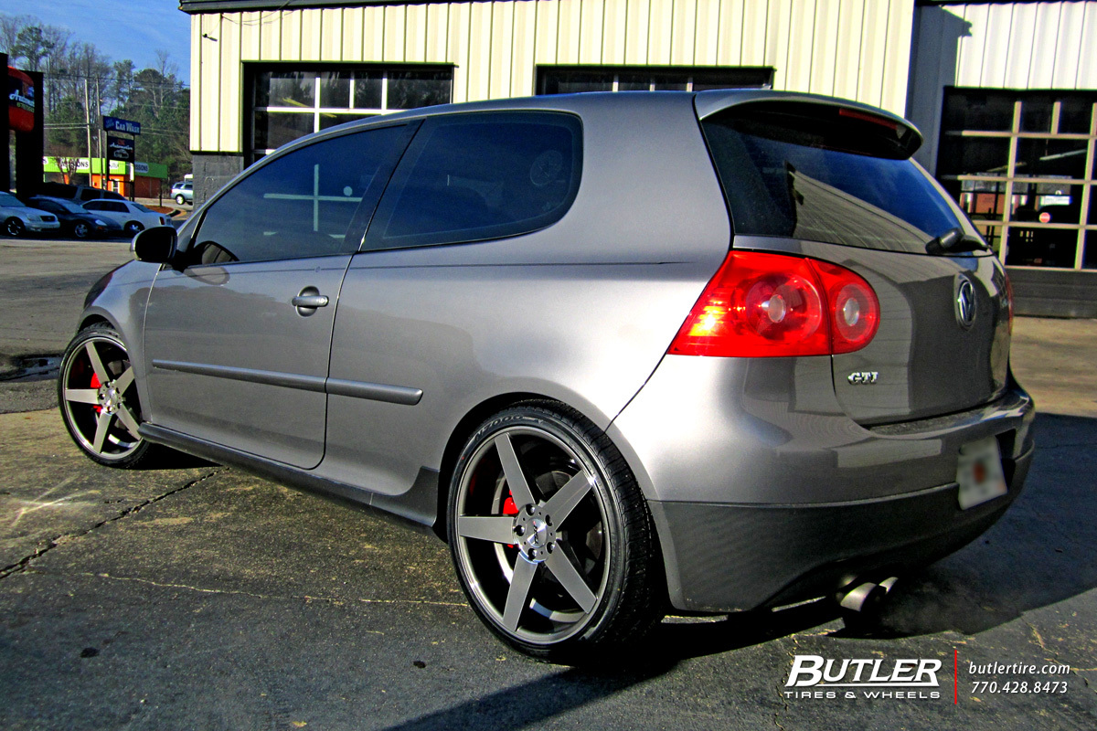 VW Golf with 19in TSW Sochi Wheels exclusively from Butler Tires and ...