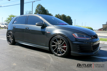 VW Golf with 19in Vossen CVT Wheels