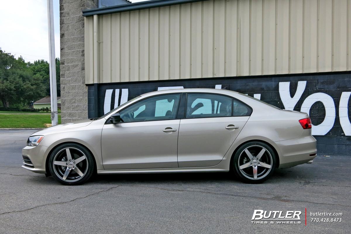 VW Jetta with 18in TSW Sochi Wheels