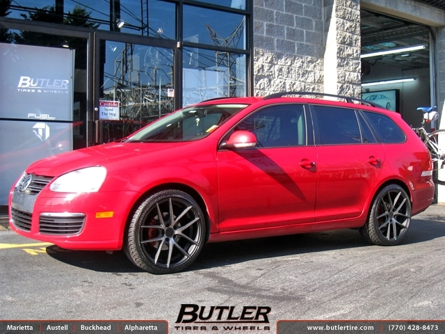 VW Jetta with 19in Niche Targa Wheels exclusively from ...
