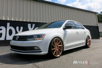 VW Jetta with 19in Savini BM15 Wheels