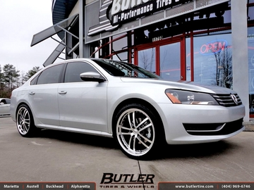 VW Jetta with 20in TSW Cadwell Wheels