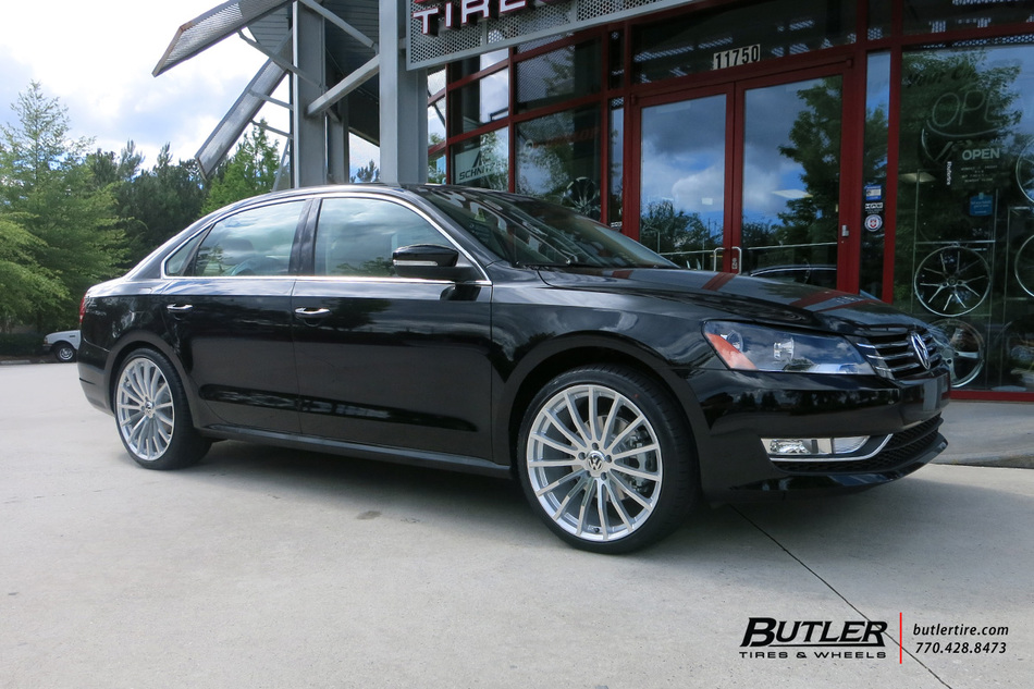 VW Jetta with 20in TSW Mallory Wheels exclusively from ...