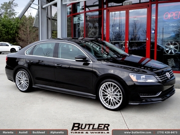 VW Passat with 20in TSW Max Wheels