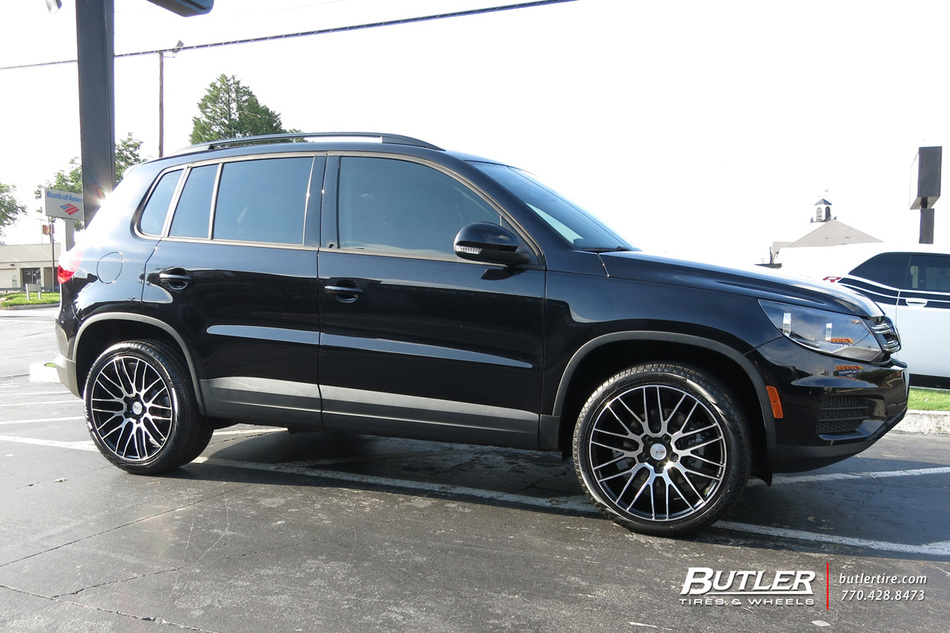 Vw Tiguan With 19in Savini Bm13 Wheels Exclusively From