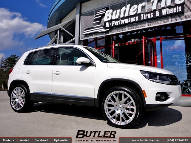 VW Tiguan with 20in TSW Mugello Wheels exclusively from Butler Tires and Wheels in Atlanta, GA ...
