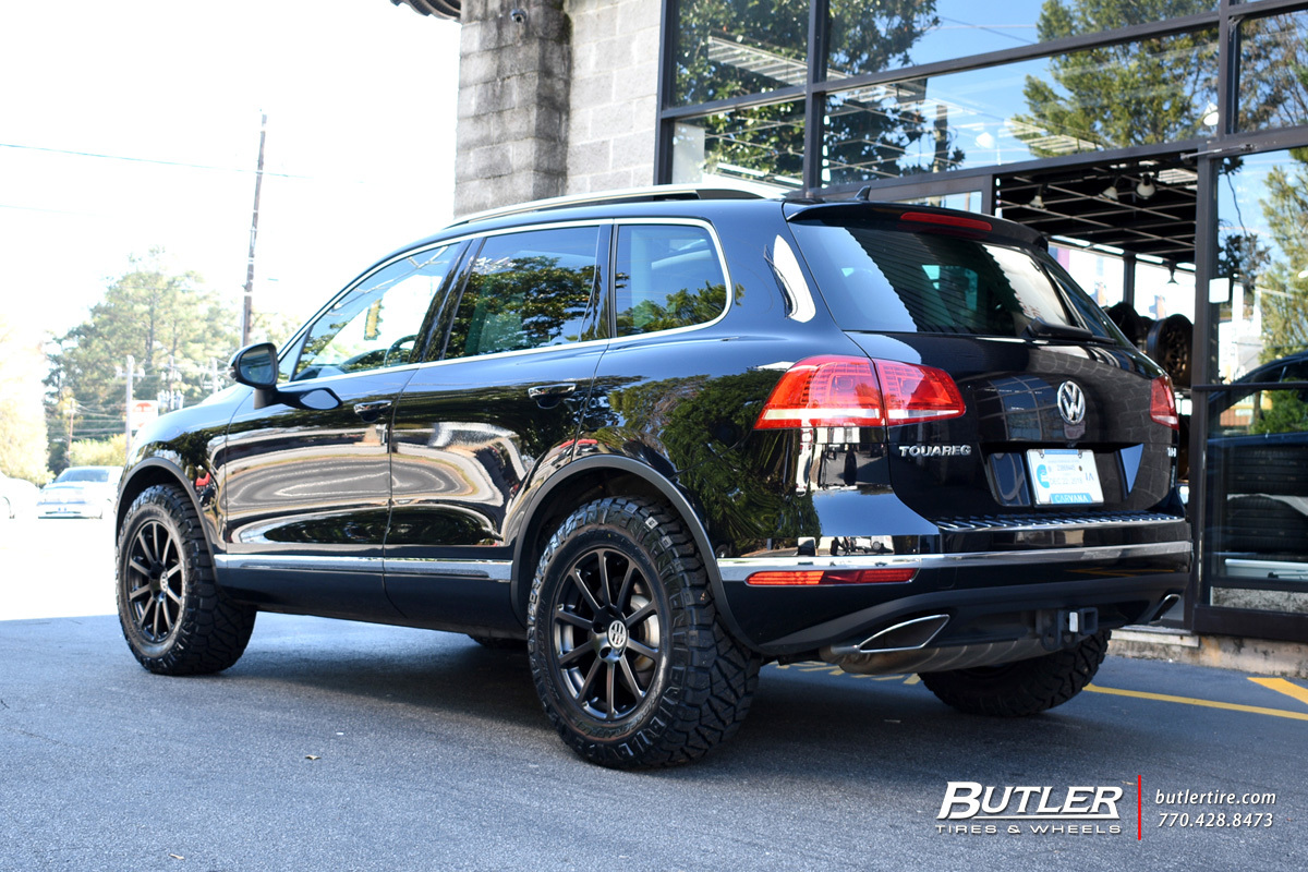 Vw Touareg With 18in Victor Zehn Wheels Exclusively From Butler Tires And Wheels In Atlanta Ga Image Number 11247
