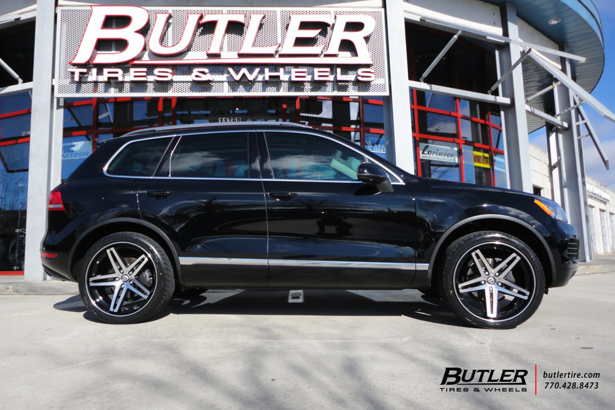 VW Touareg with 22in Lexani R-Five Wheels exclusively from ...