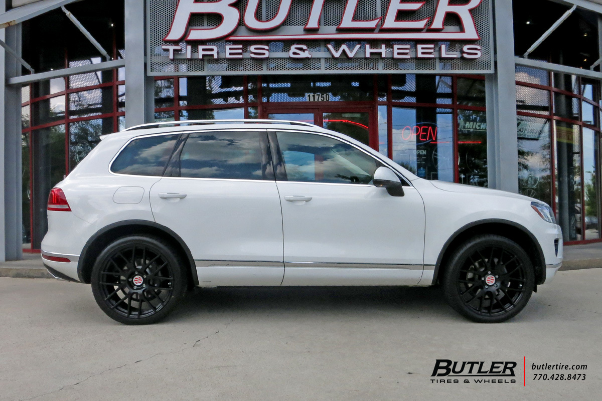 Vw Touareg With 22in Victor Innsbruck Wheels Exclusively From Butler Tires And Wheels In Atlanta Ga Image Number 8975