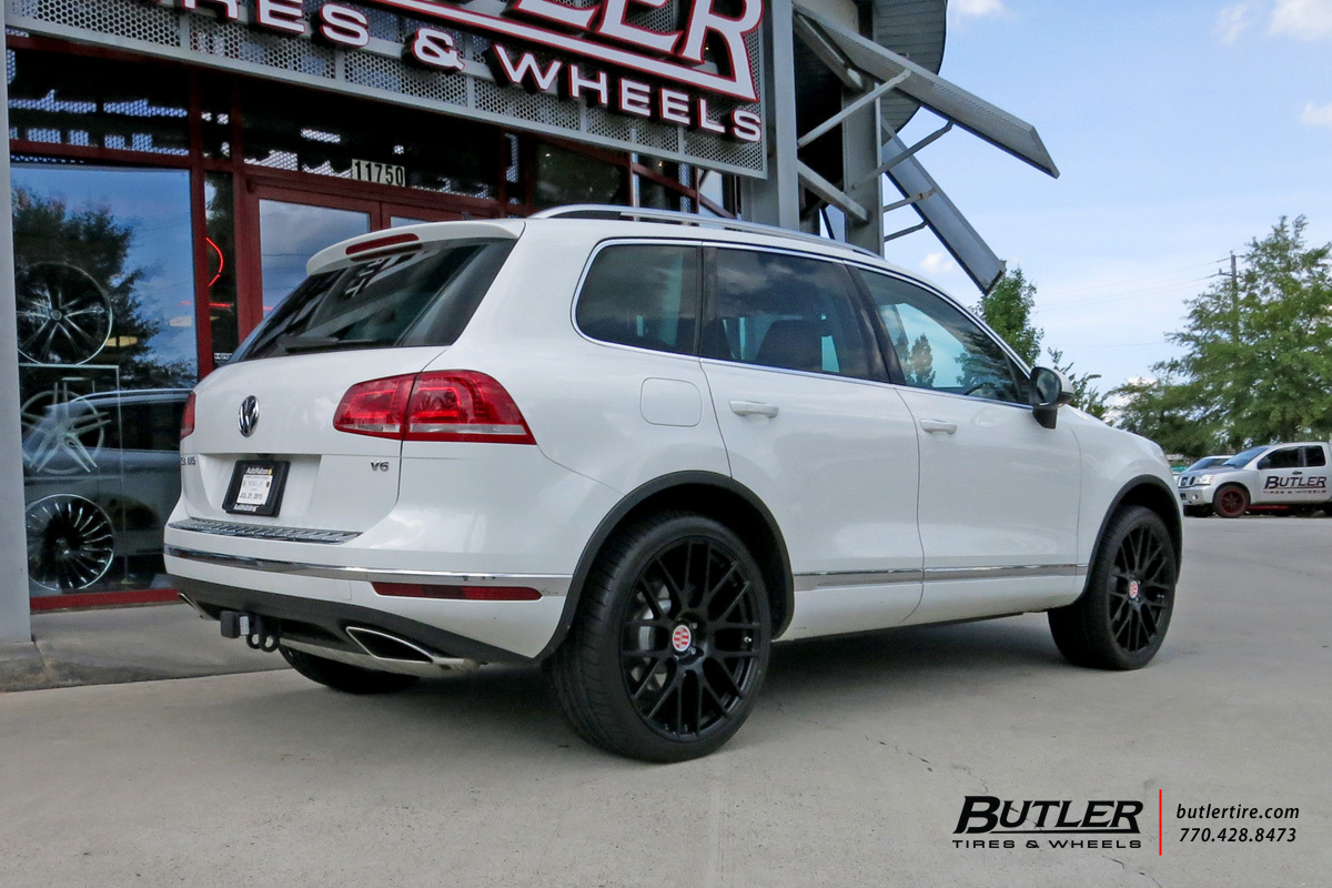 Vw Touareg With 22in Victor Innsbruck Wheels Exclusively