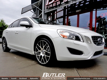 Volvo S60 with 19in TSW Nurburgring Wheels