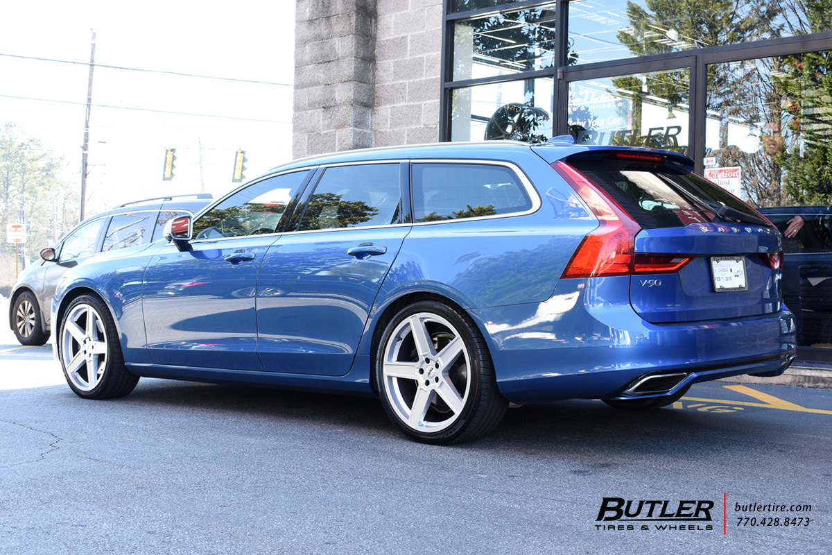 Volvo V90 Cross Country with 20in TSW Ascent Wheels