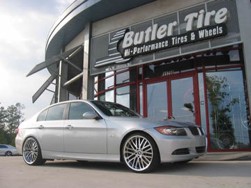 bmw 3 Series with 20in Axis Konkourse Wheels