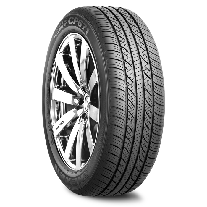Nexen CP671 High Performance Passenger All Season Tires
