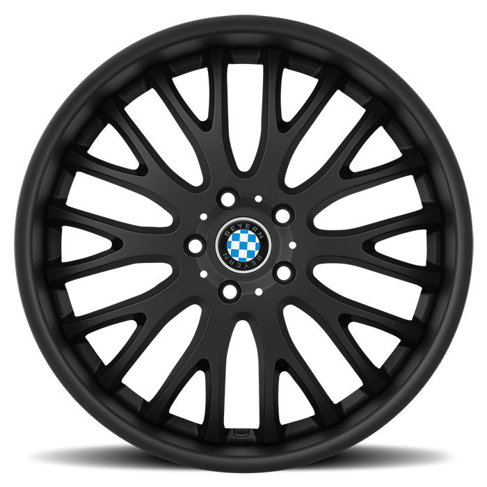 Beyern Munich Wheels - Matte Black Finish