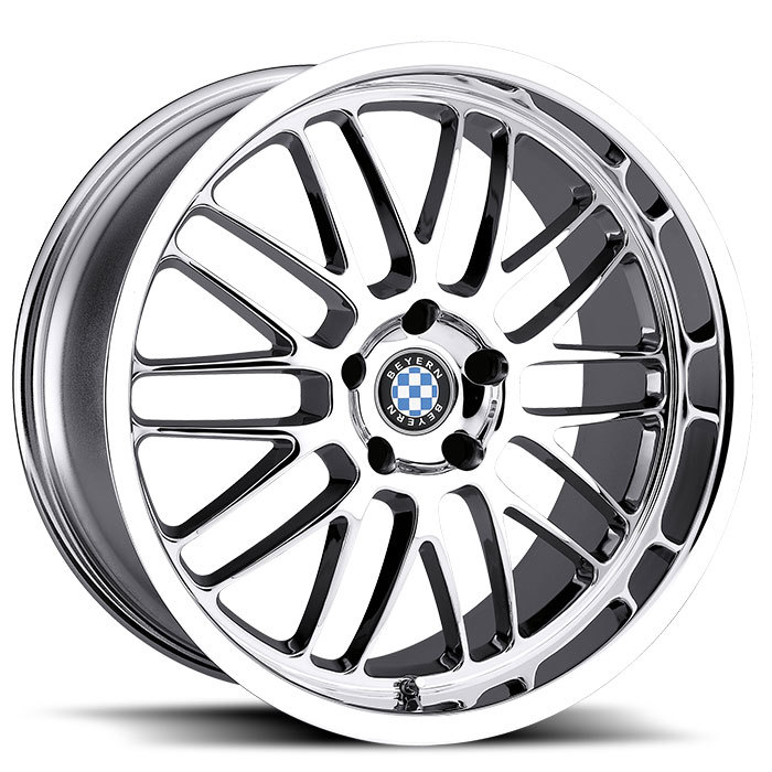 Beyern Mesh Chrome BMW Wheels - Standard