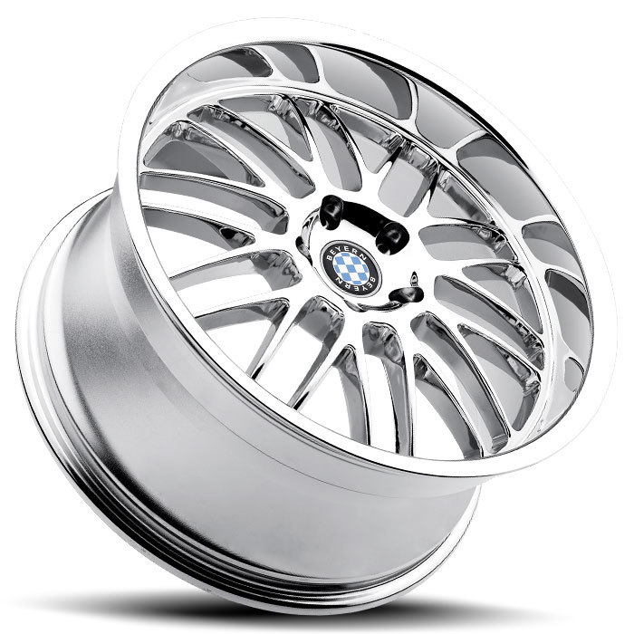 Beyern Mesh Chrome BMW Wheels - Lay