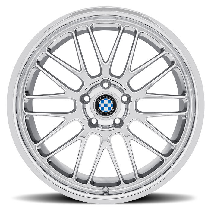 Beyern Mesh Chrome BMW Wheels - Face