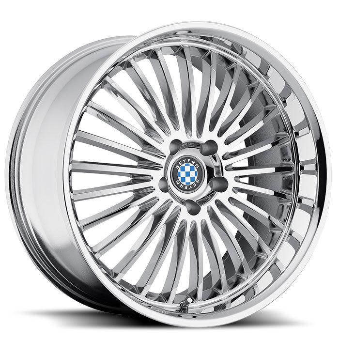 Beyern Multi Spoke Chrome BMW Wheels - Standard