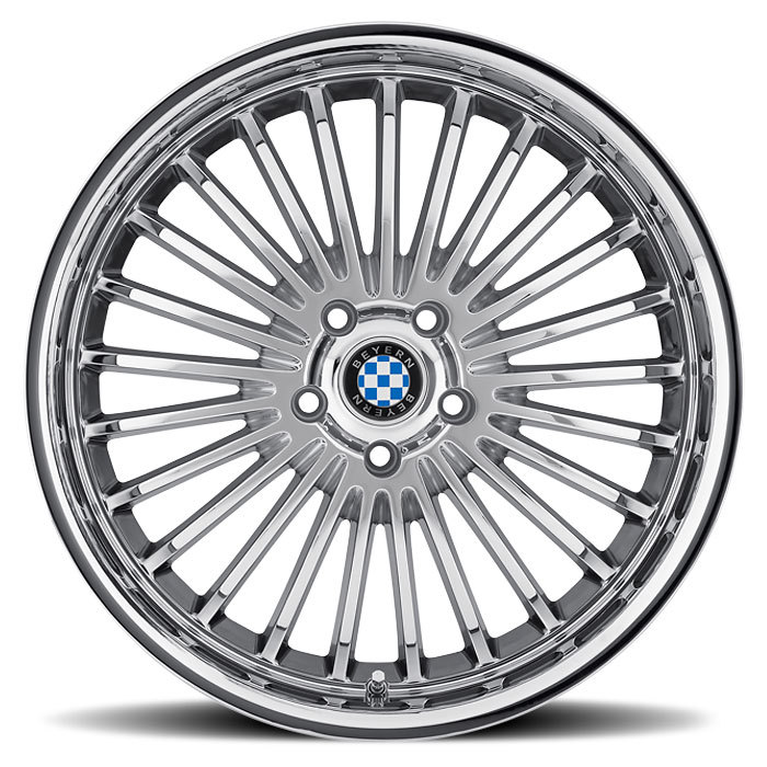 Beyern Multi Spoke Chrome BMW Wheels - Face