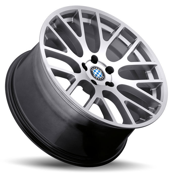 Beyern Spartan Silver BMW Wheels - Lay