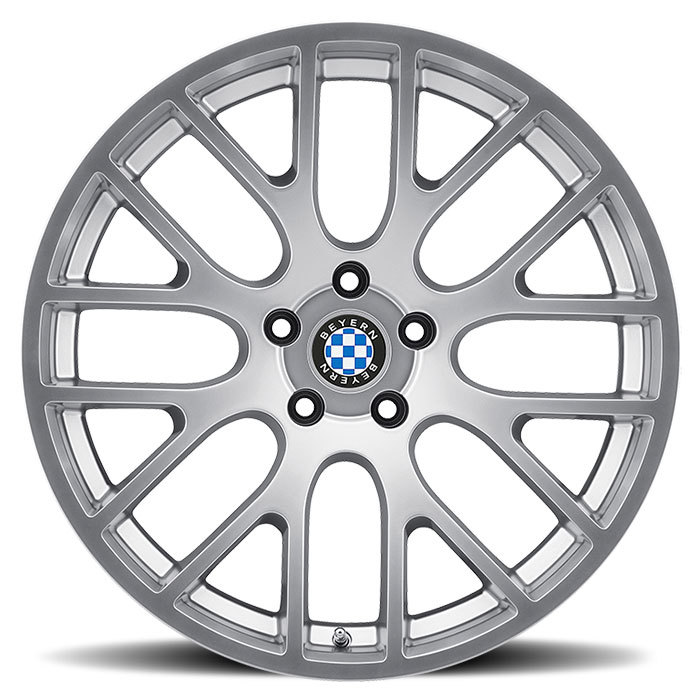 Beyern Spartan Silver BMW Wheels - Face