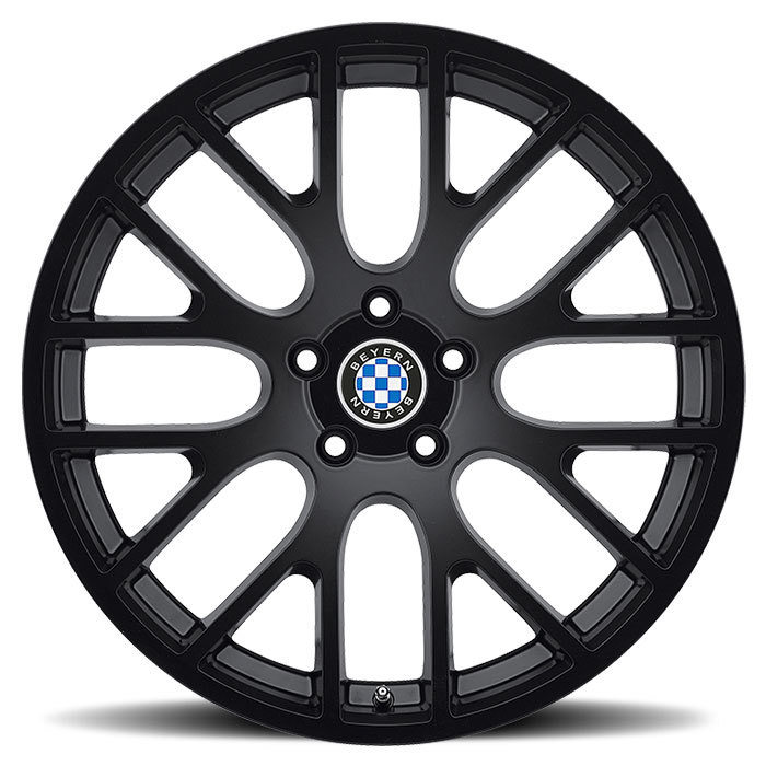Beyern Spartan Matte Black BMW Wheels - Face