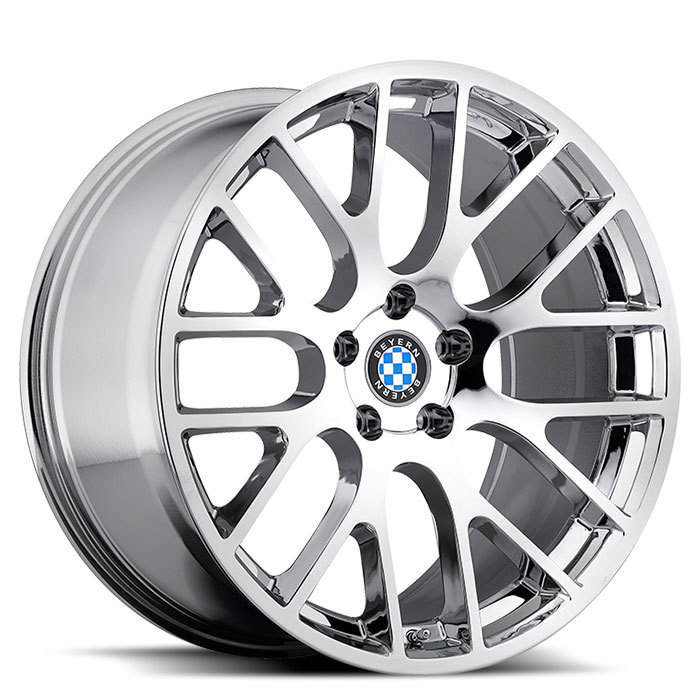 Beyern Spartan Chrome BMW Wheels - Standard